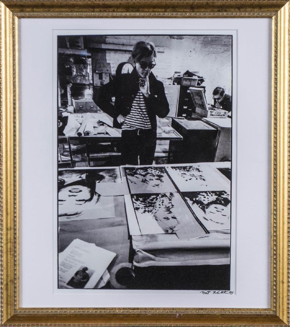 Nat Finkelstein, Pair of Photographs of Warhol - 4