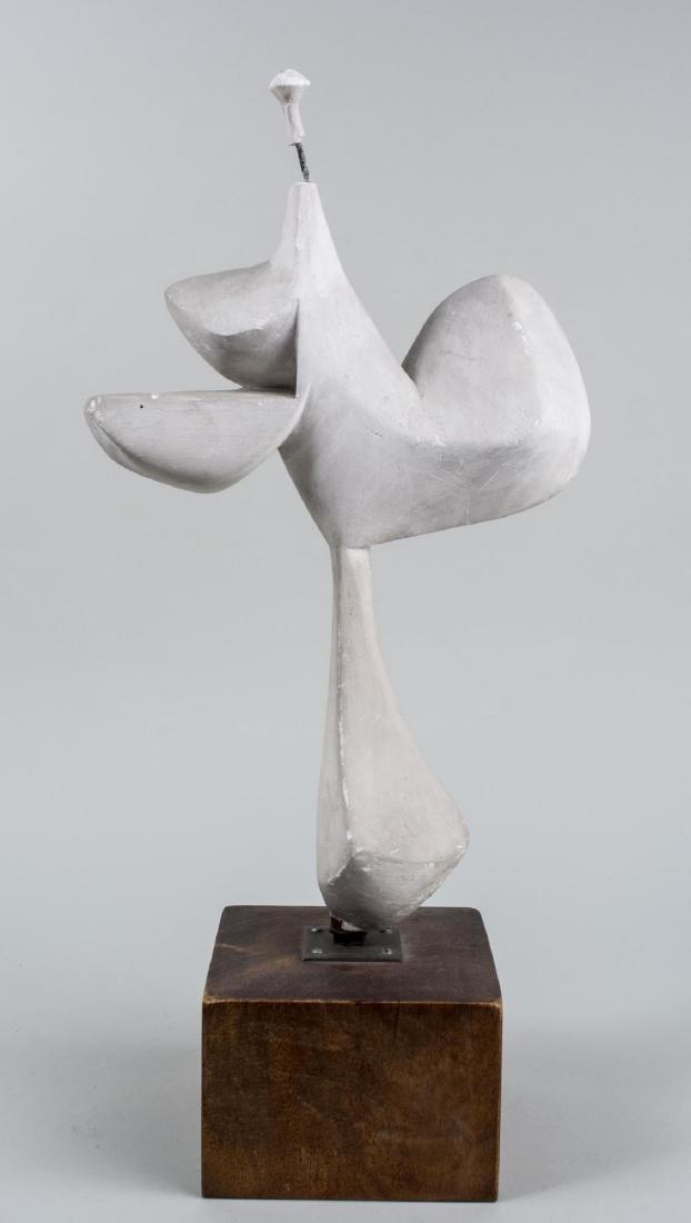 Mid-Century Modern Plaster Sculpture