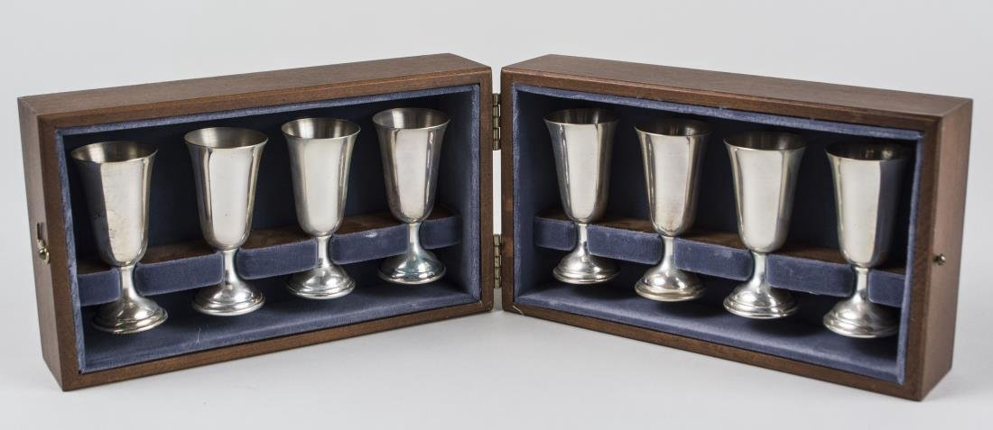 Tuttle Sterling Silver Cordial Set