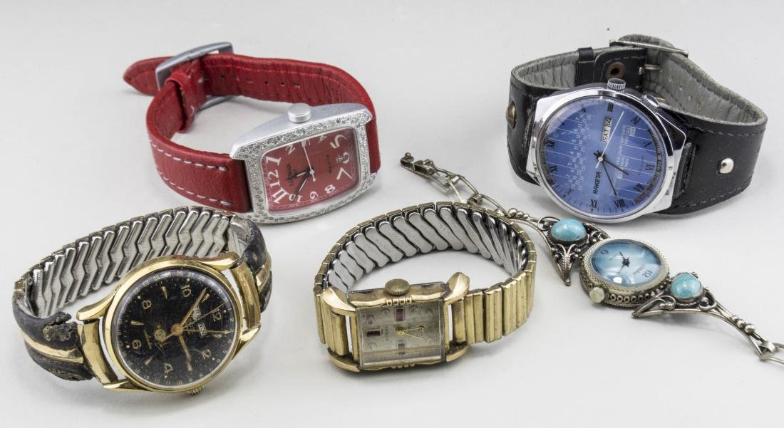 Group of Vintage Fashion Watches