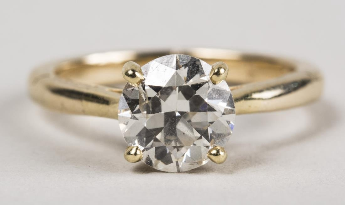 Cartier Diamond Solitaire Ring   *