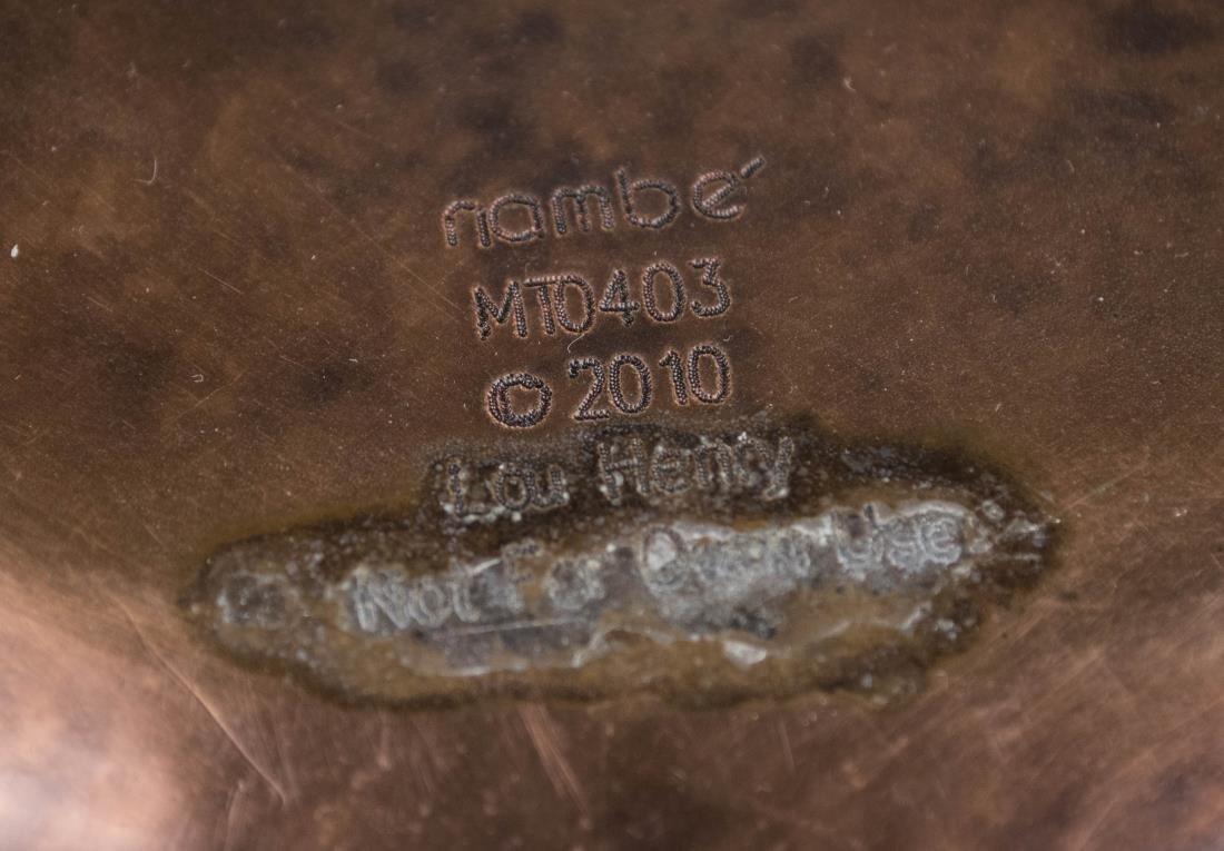 Nambe Copper Center Bowl - 2