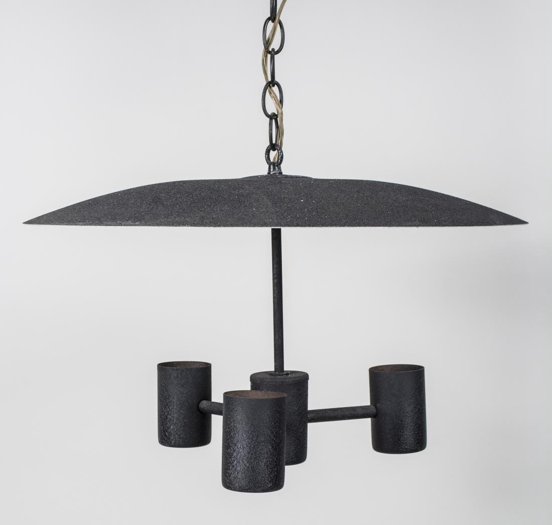 Iron Three Light Fixture