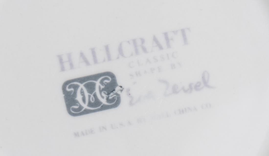 Hallcraft Eva Zeisel Service - 2