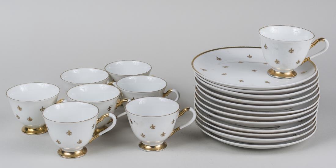 Continental Porcelain Luncheon Set