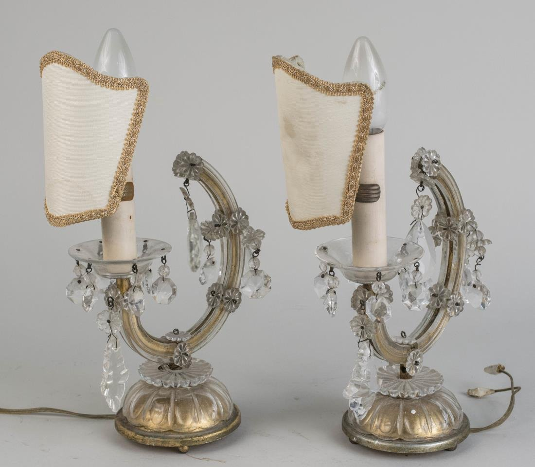 Pair of Boudoir Lights