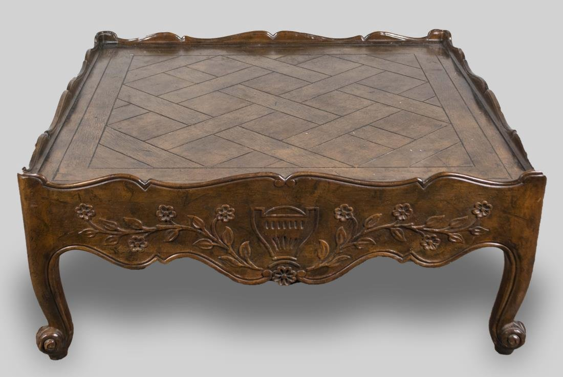 Parquetry Style Coffee Table