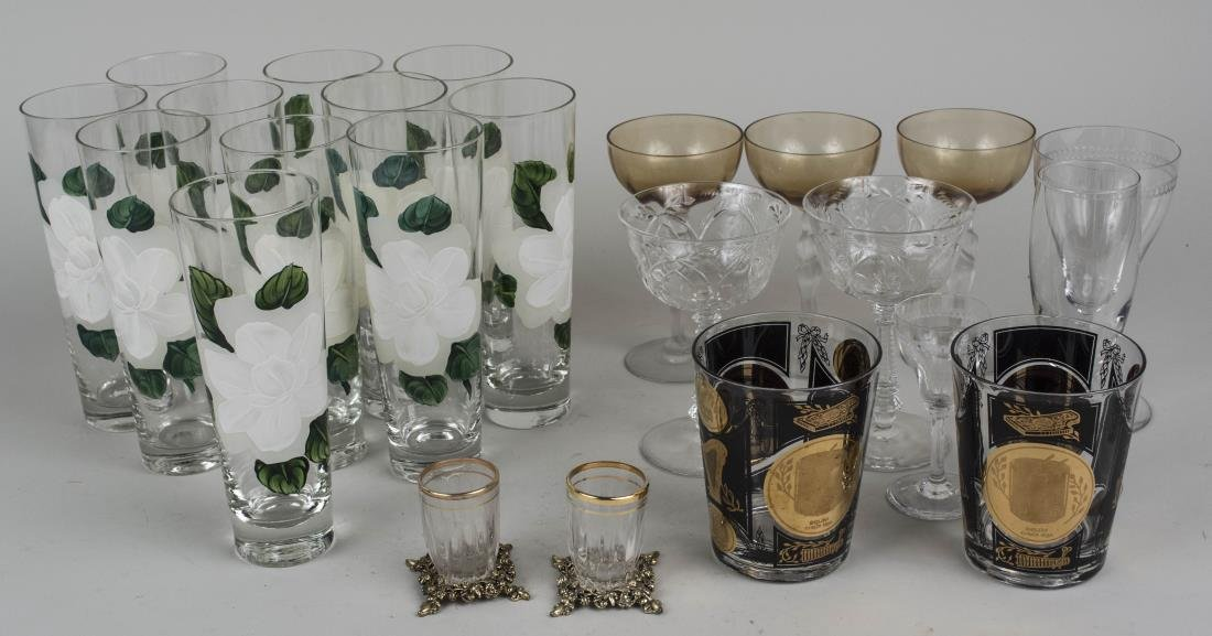 Group of Glassware and Barware