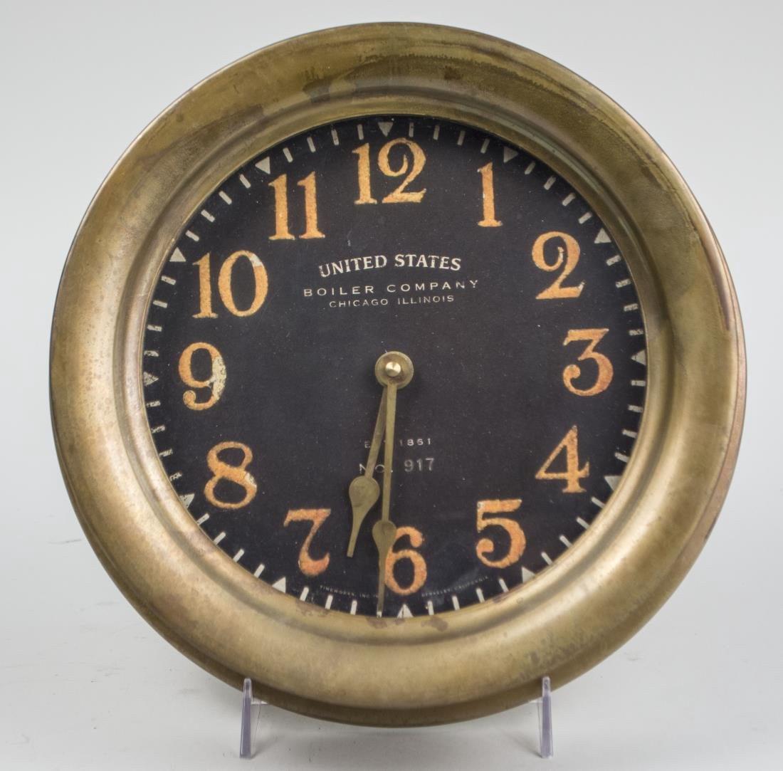 Brass Ship's Clock