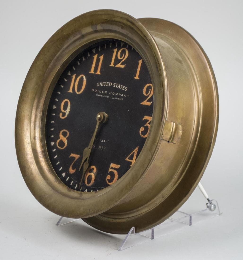 Brass Ship's Clock - 2