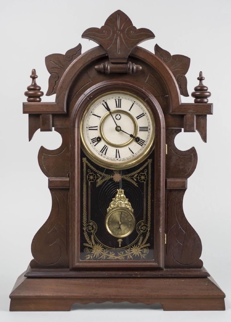 New Haven Clock Co. Shelf Clock