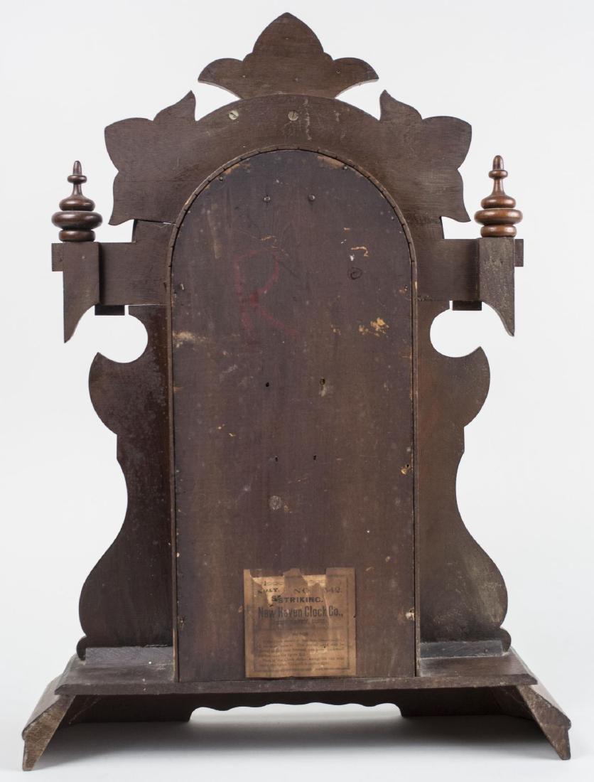 New Haven Clock Co. Shelf Clock - 3