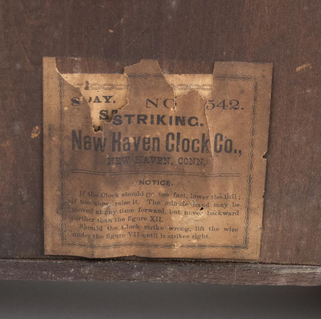 New Haven Clock Co. Shelf Clock - 4