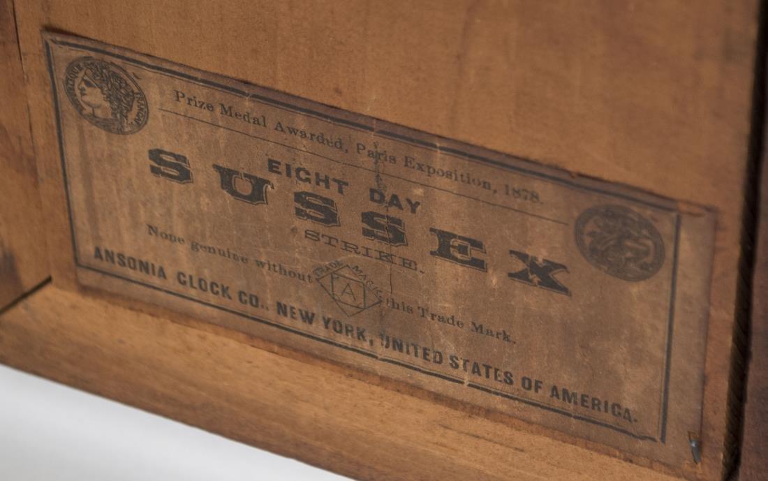 Ansonia Shelf Clock - 5