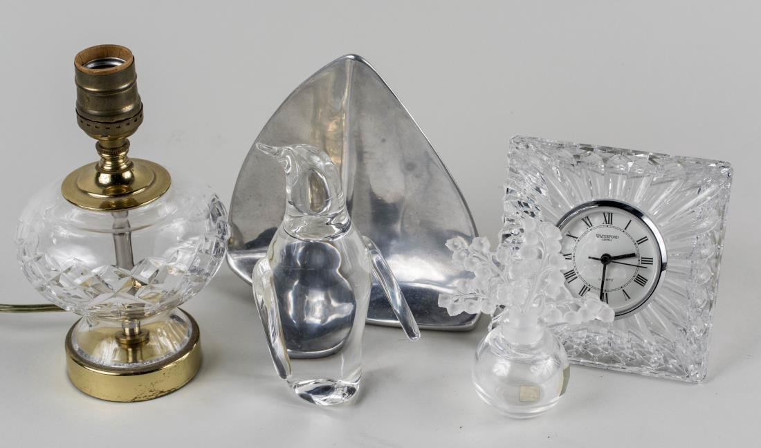 Group of Four Glass Decorations