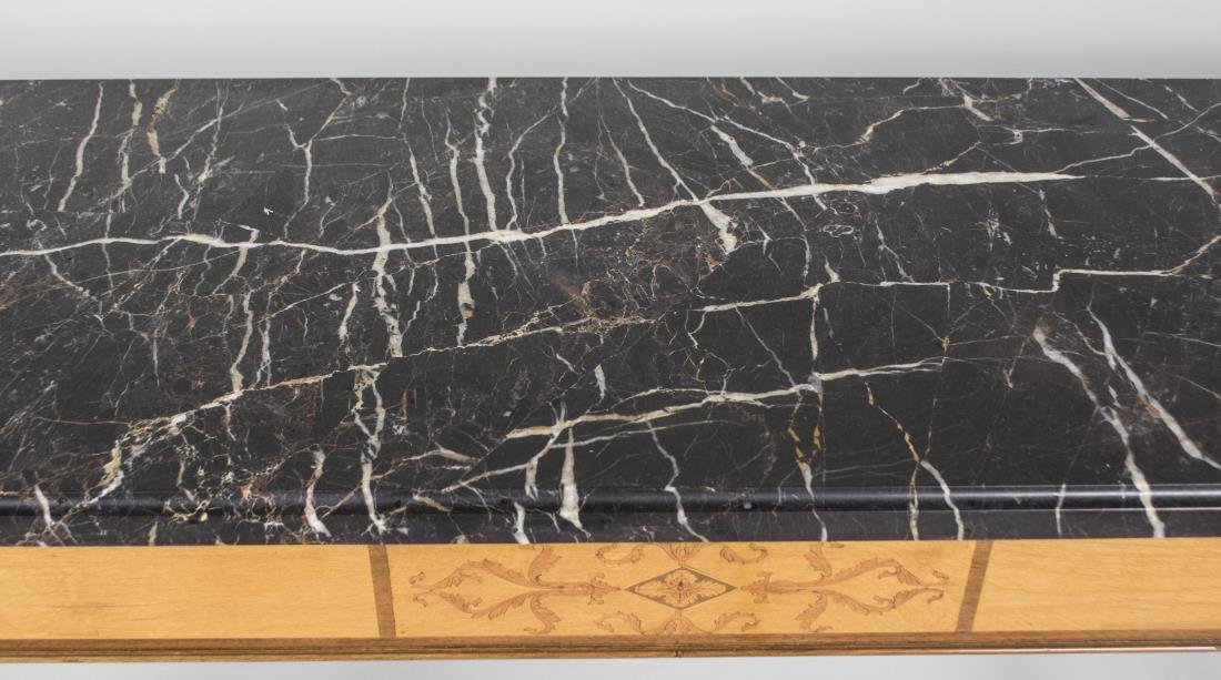 Marble Top Console - 2