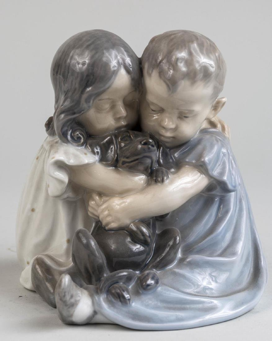 Royal Copenhagen Porcelain Figure Group