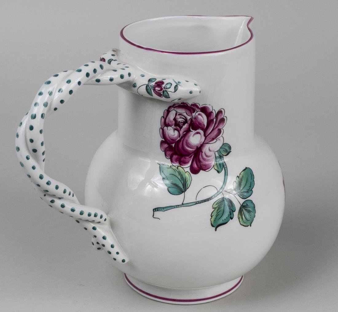 Tiffany & Co. Pottery Pitcher - 2
