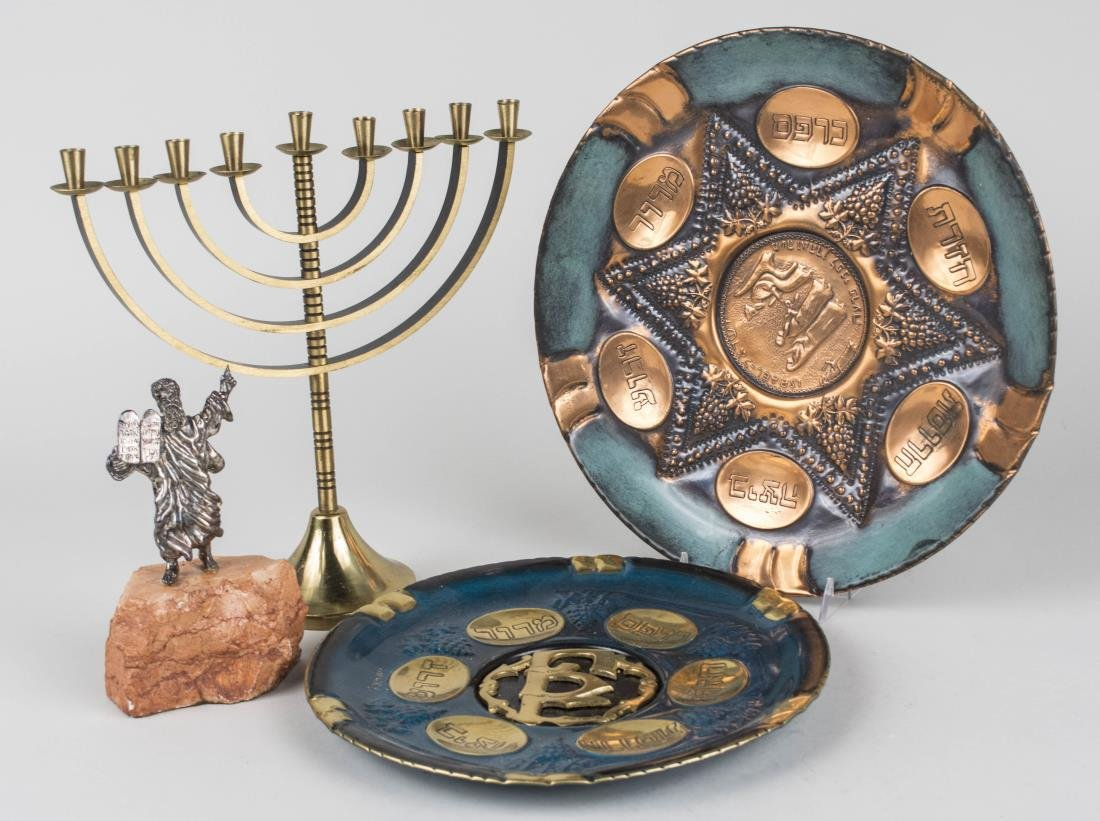 Group of Judaica Articles