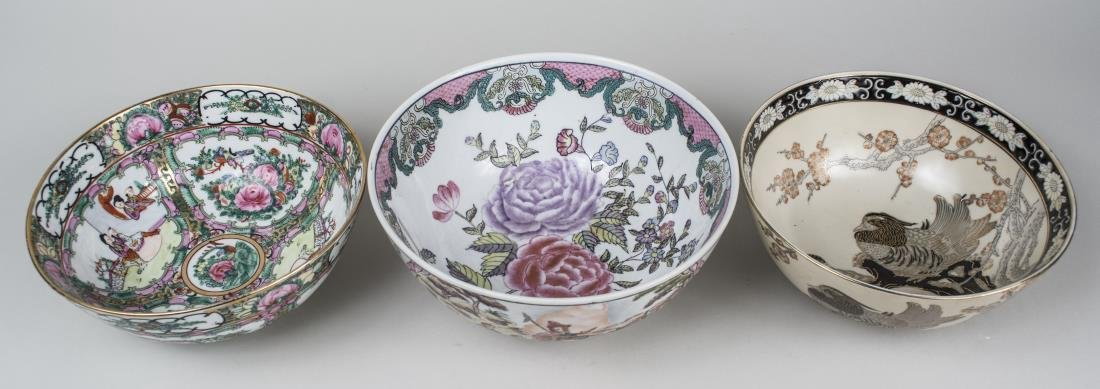 Three Asian Porcelain Bowls - 2