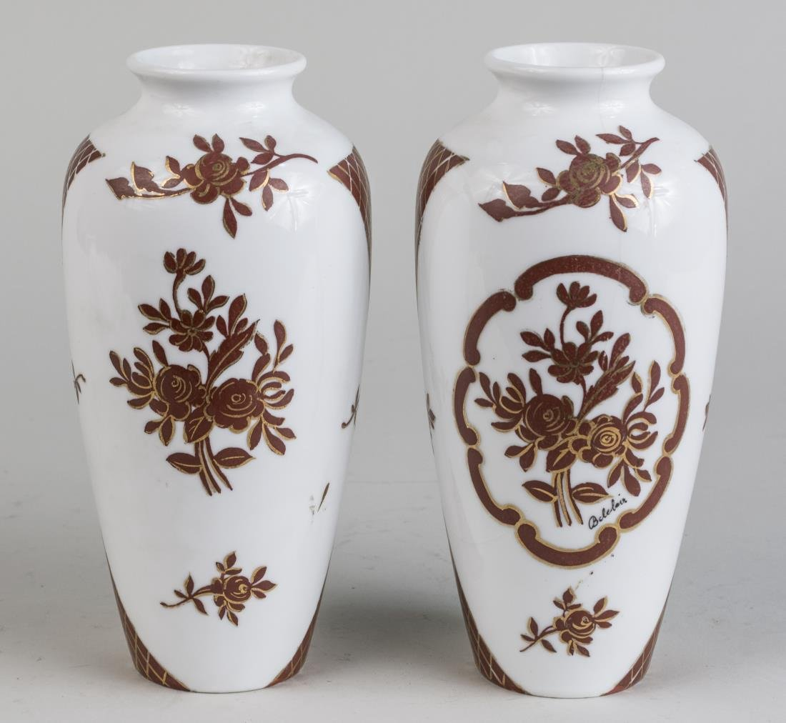 Pair of Japanese Porcelain Vases