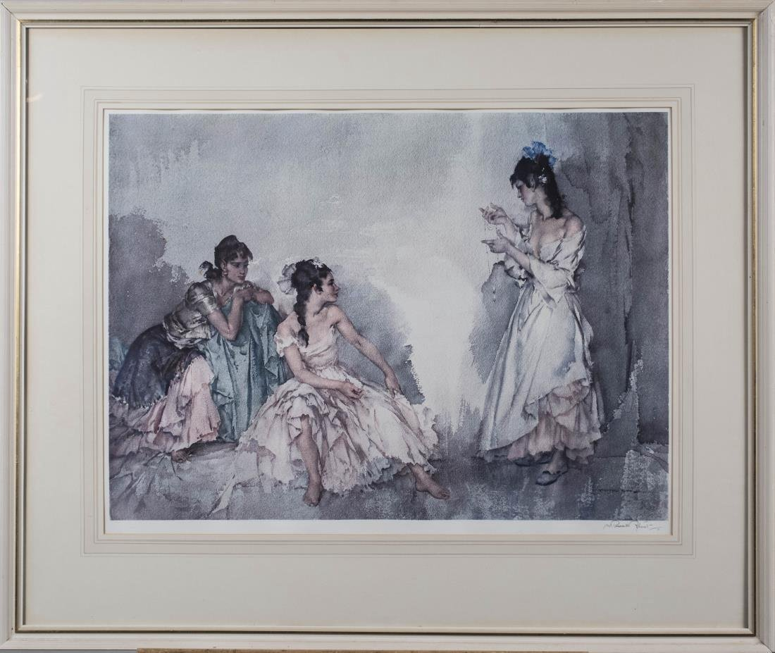 Two William Russell Flint Prints & Autobiography