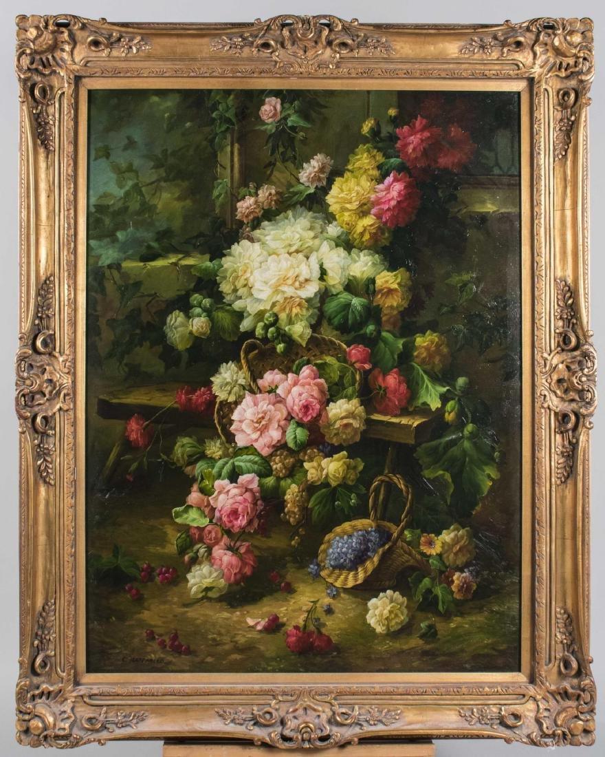 C. Raffaello, Floral Still Life