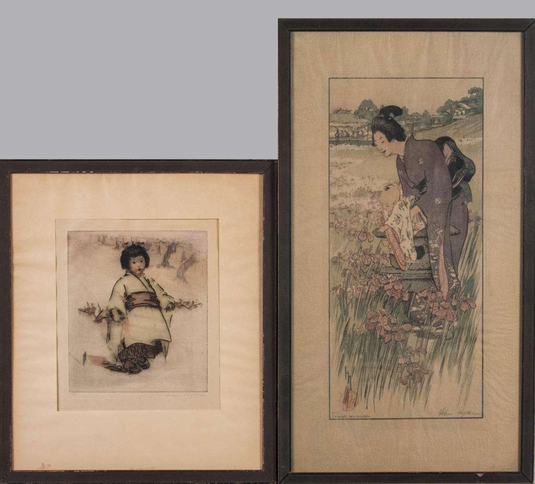 Two Helen Hyde Prints