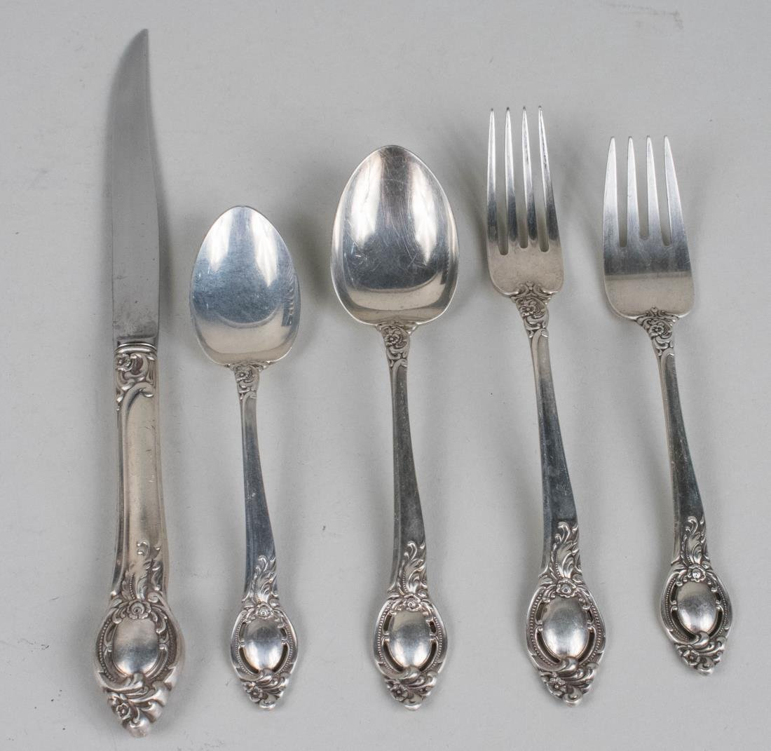 Reed and Barton Sterling Silver Flatware - 2