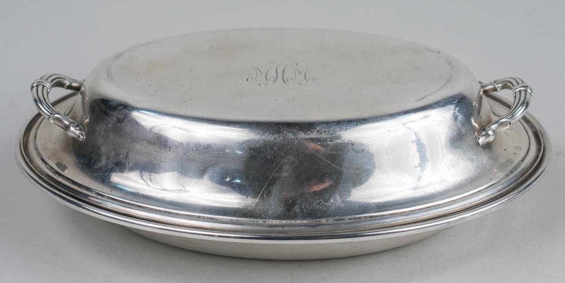 American Sterling Silver Covered Entree Dish