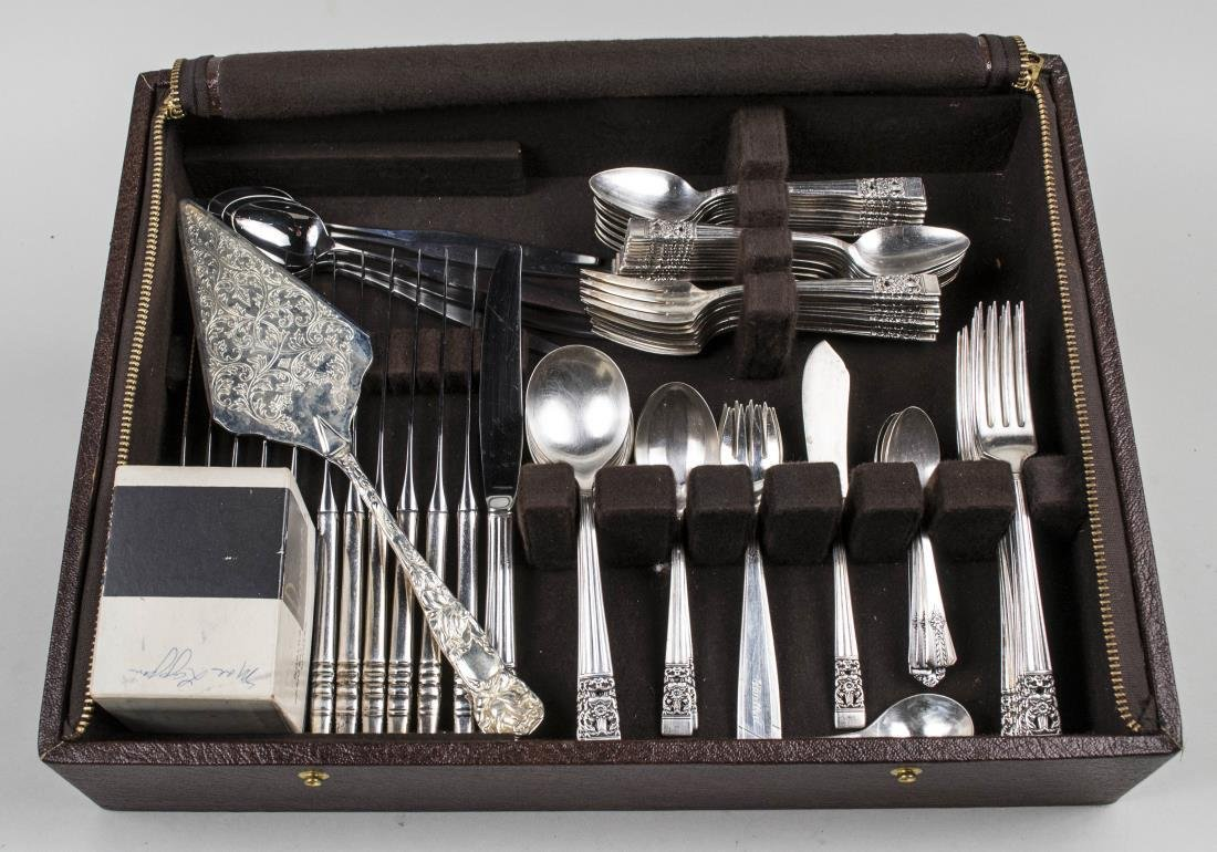 Community Silver Plated Flatware Set