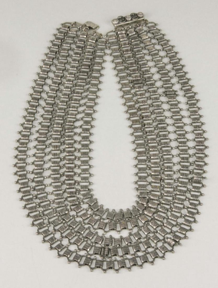 Group of Silver Tone Jewelry - 2