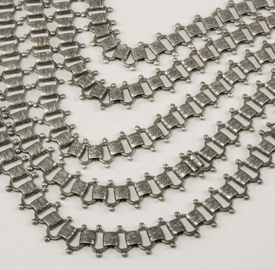 Group of Silver Tone Jewelry - 3