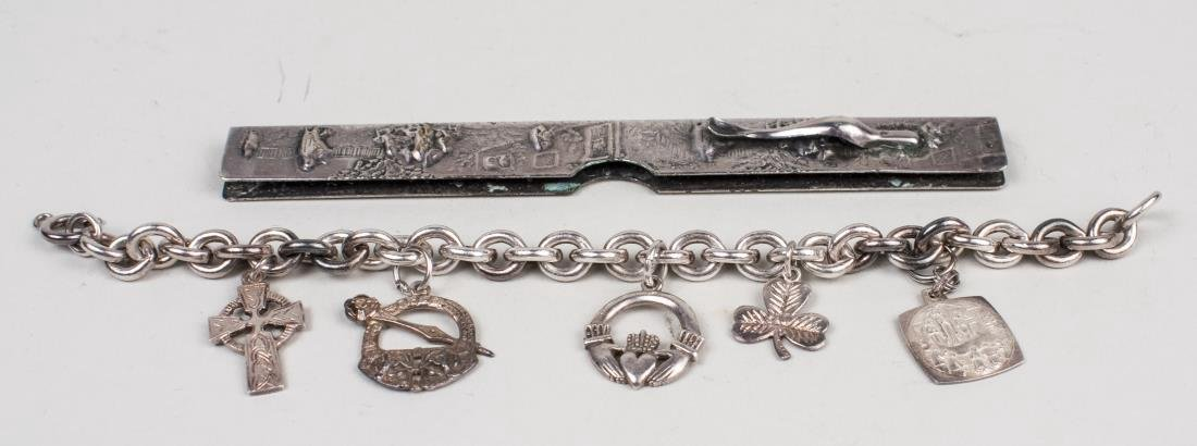 Group of Silver Tone Jewelry - 4