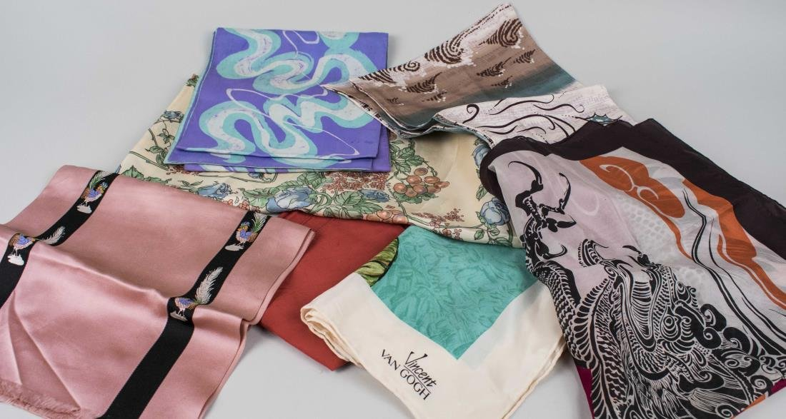 Group of Fashion Scarves