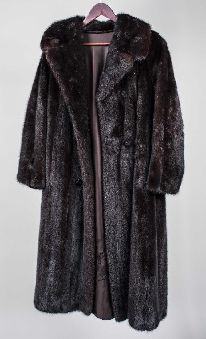 Lady's Mink Coat - 2