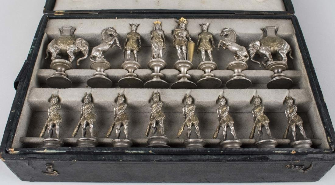 Rome vs. Carthage Chessmen Set