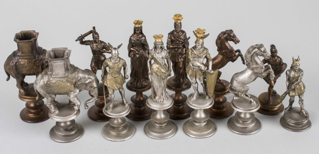 Rome vs. Carthage Chessmen Set - 2