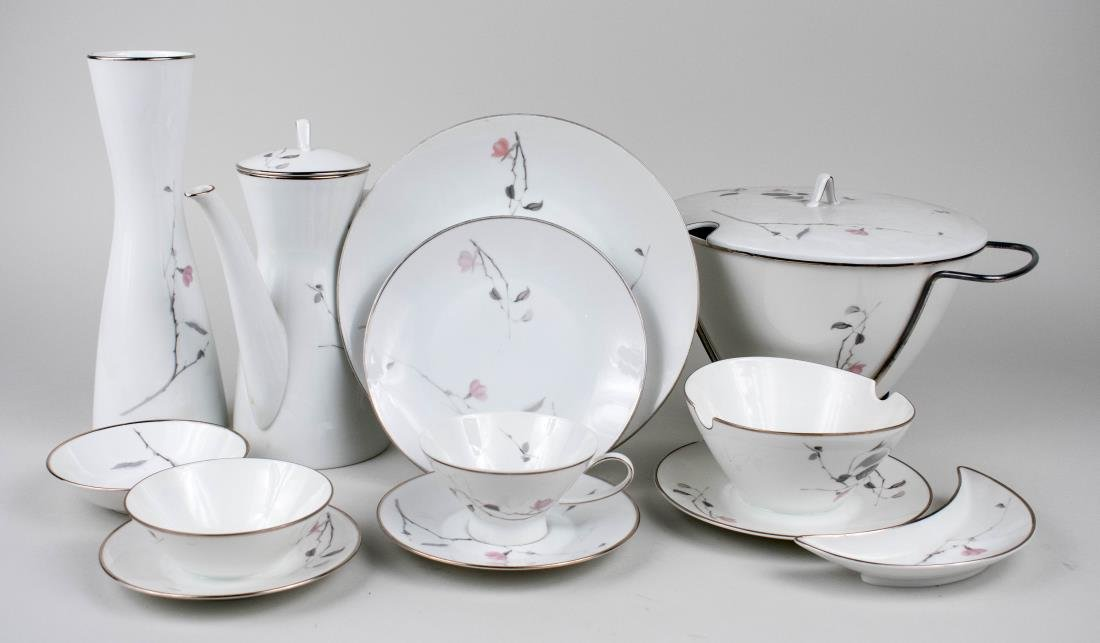 Rosenthal Porcelain Dinner Set by Raymond Loewy