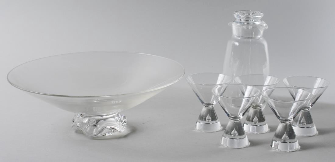 Boxed Set of Steuben Glassware