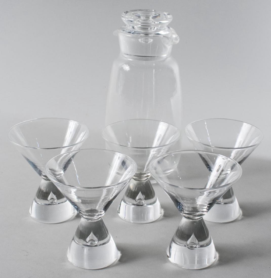 Boxed Set of Steuben Glassware - 2