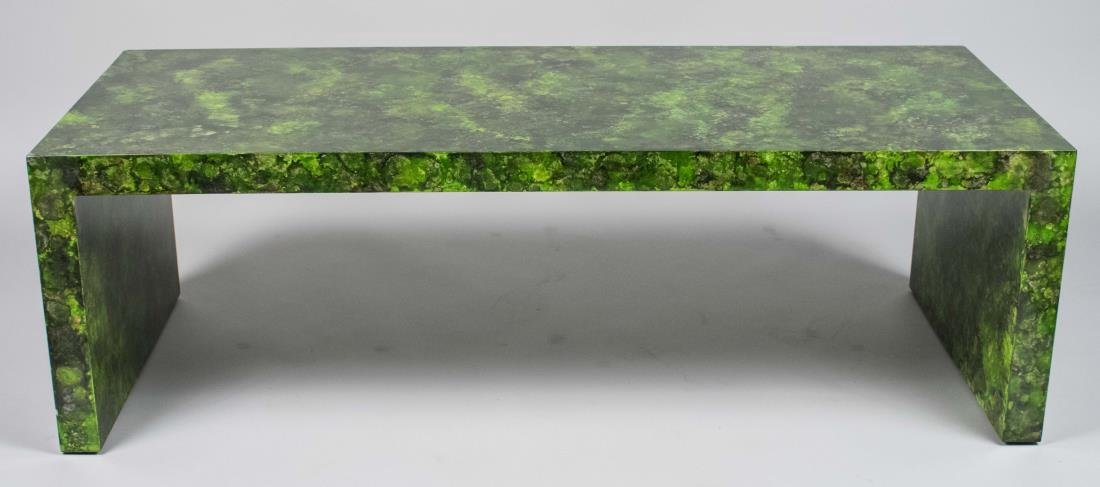 Todd Alexander Romano Waterfall Lacquer Low Table