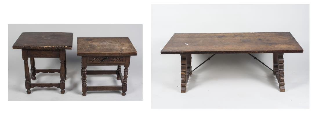 Three Baroque Style Tables