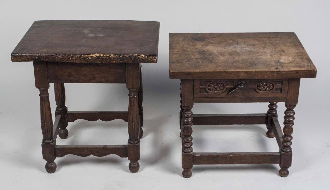 Three Baroque Style Tables - 3
