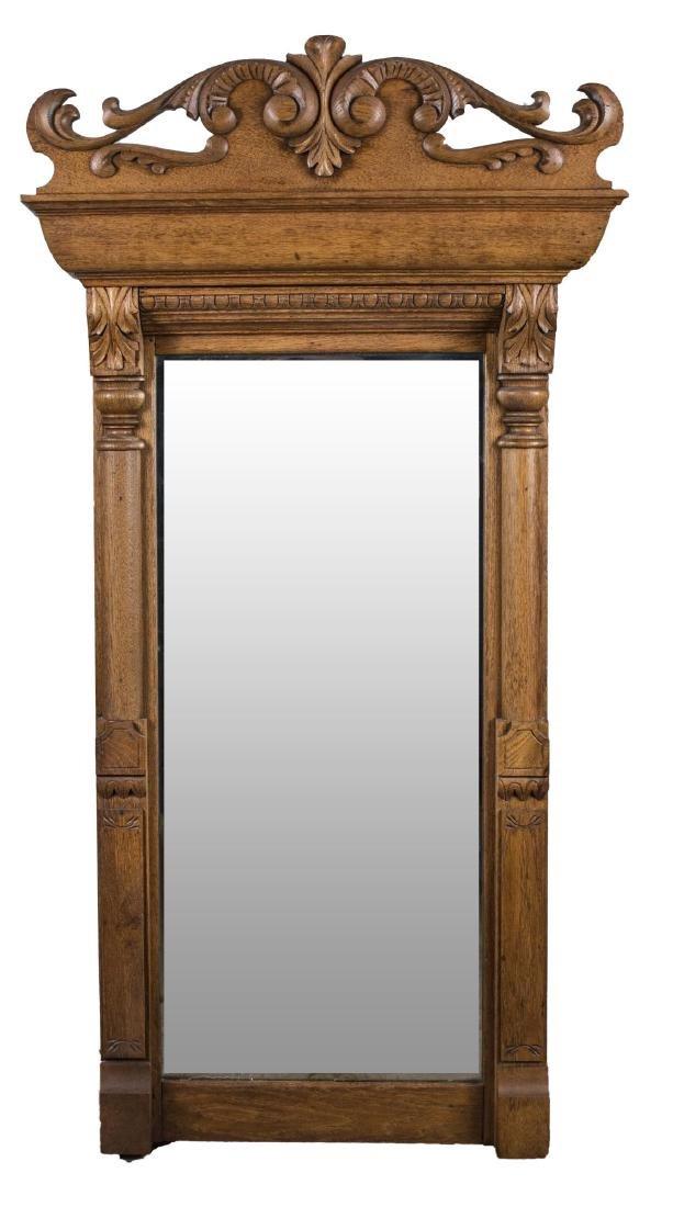 Oak Pier Mirror