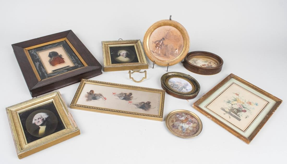 Group of Small Decorative Pictures