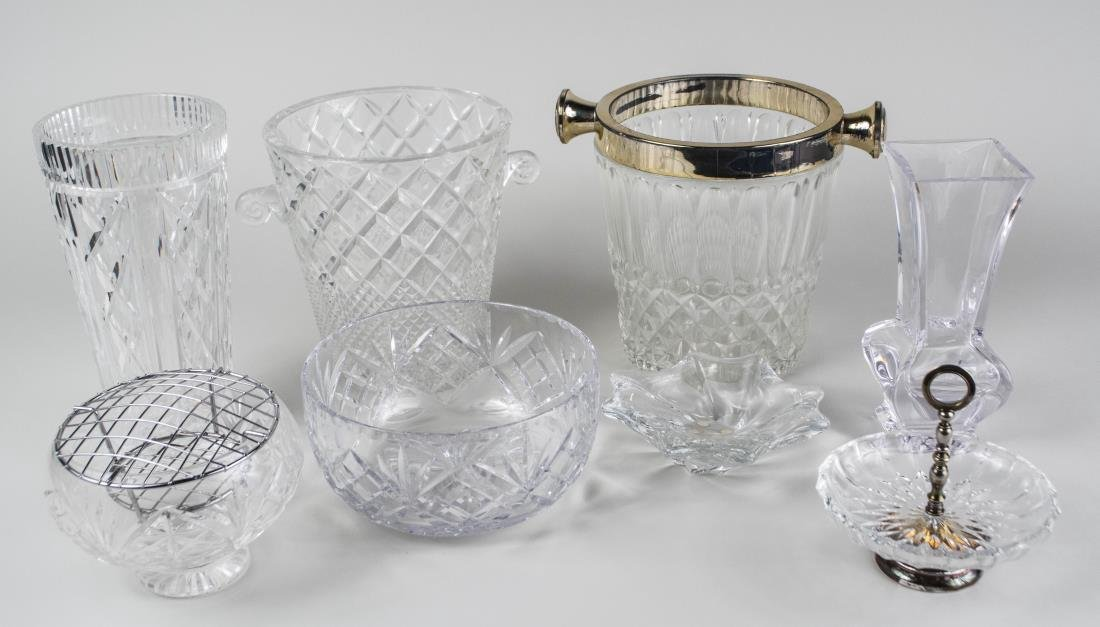 Group of Glass & Lenox Porcelain Table Decorations - 5