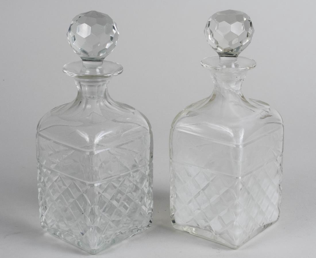 Pair of Spirit Decanters