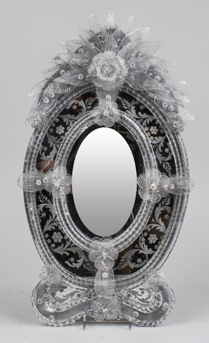 Three Venetian Glass Mirrors - 2