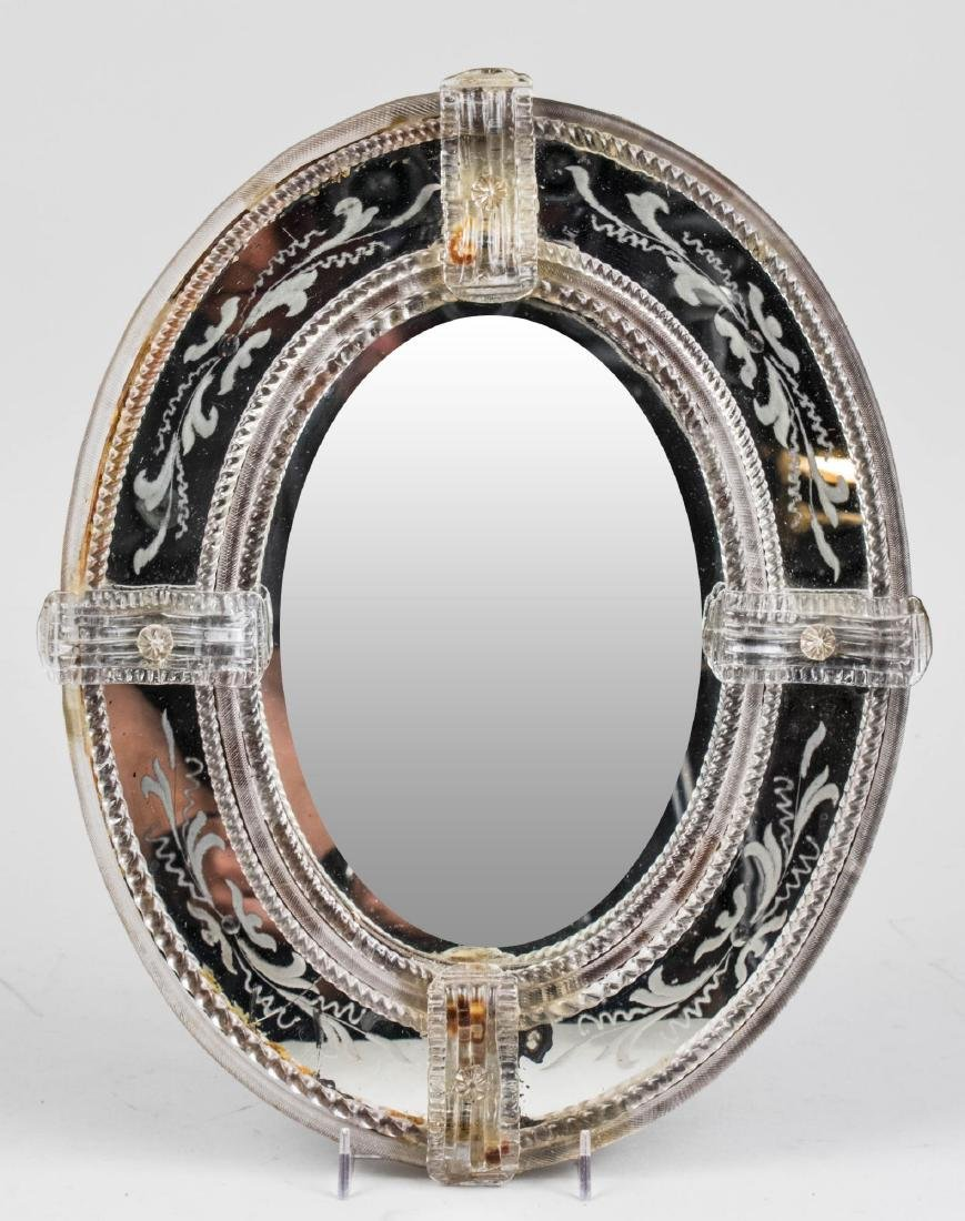 Three Venetian Glass Mirrors - 3